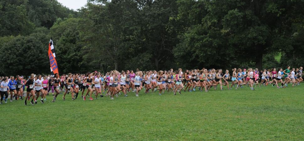 Start of the Saturday in the Park Women's 5K
