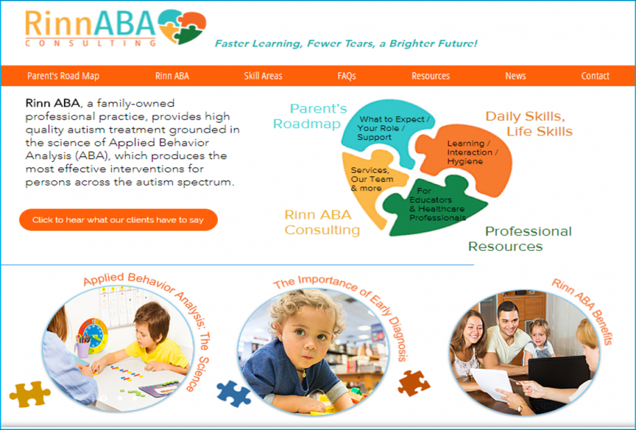Parent's Road Map provides autism information. Visit www.rinnabaconsulting.com