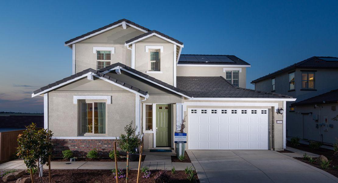 Ciara at Anatolia offers a fantastic single-story home design in Rancho Cordova.