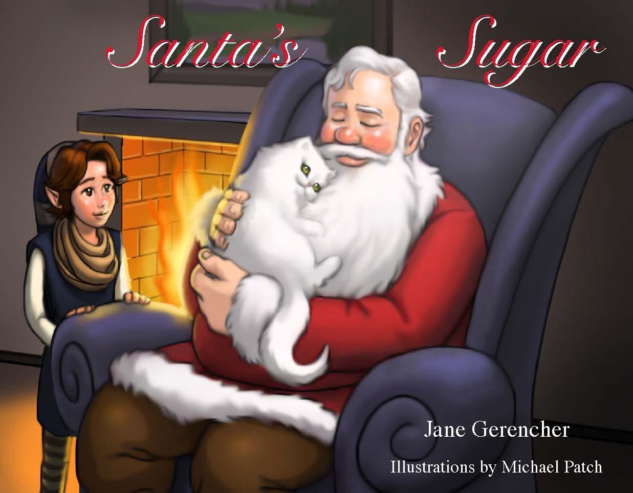Santa's Sugar Book Front Cover