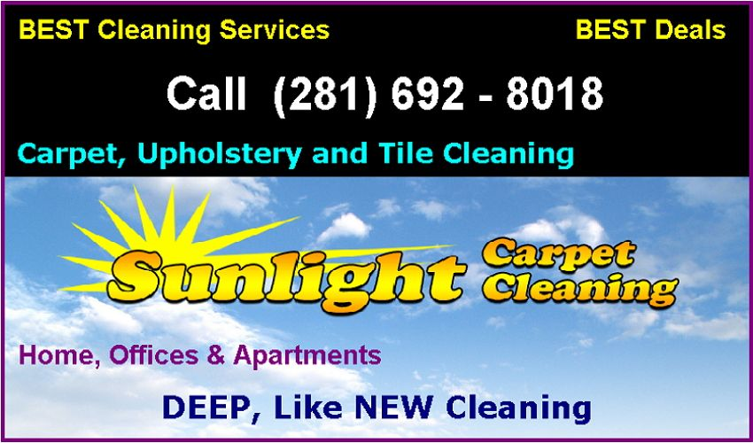Beat Pearland TX Area Carpet Cleaners