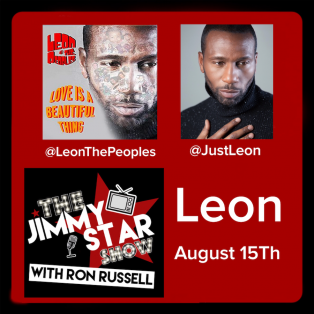 Leon on The Jimmy Star Show With Ron Russell