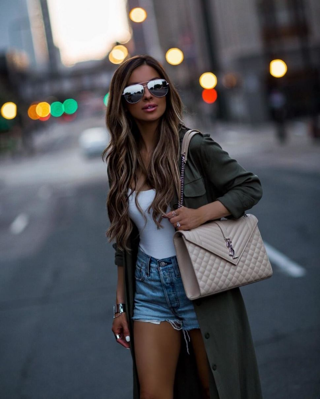 Fashion Blogger Maria Vizuete in Hgbags Online
