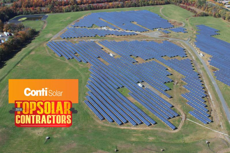 Conti Solar Ranked #12 EPC by Solar Power World