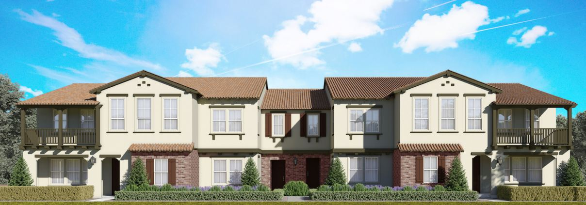 Aldea by Lennar offers new carriage-style, attached single-level homes in Irvine