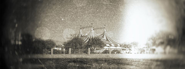 """Circus Tent"" taken by Richard Bonvissuto"