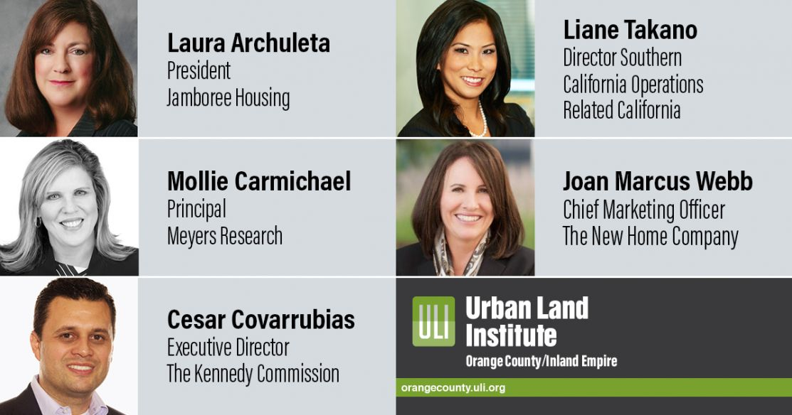 "ULI OC / IE will offer a series on ""The Future of Attainable Housing in OC."""