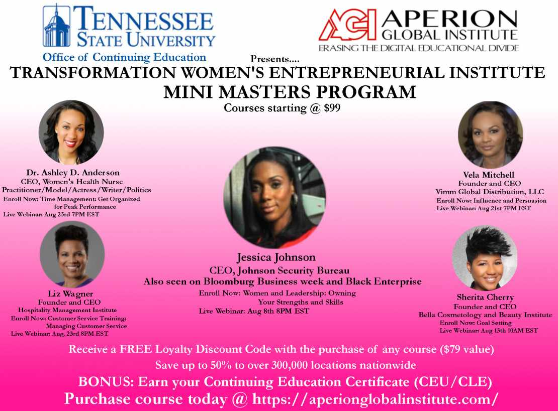 Transformation Womens Entrepreneurial Institute