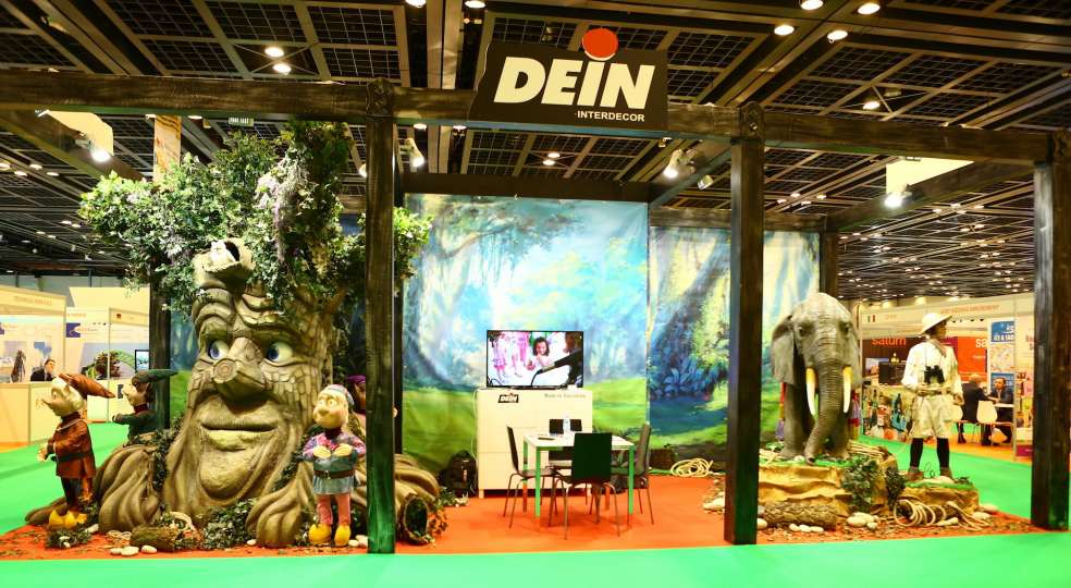 DEIN exhibitor from Spain during the DEAL 2018 sho