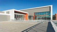 Clemson Littlejohn Coliseum: Exterior