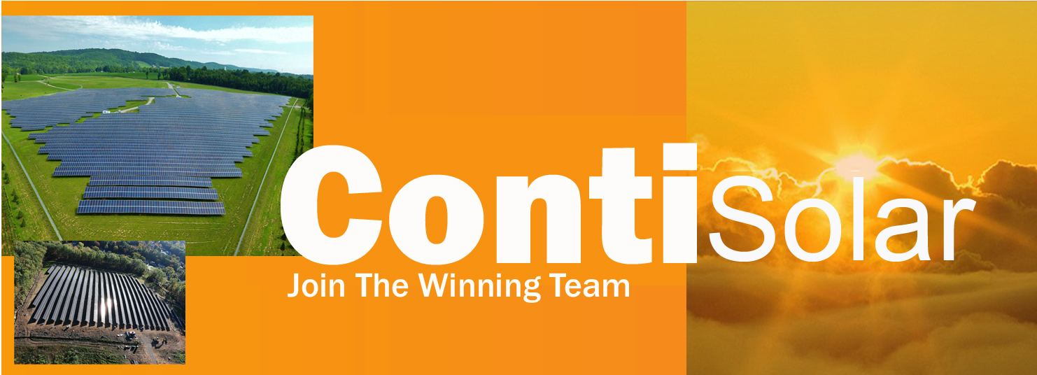 Join The Winning Team - Conti Solar