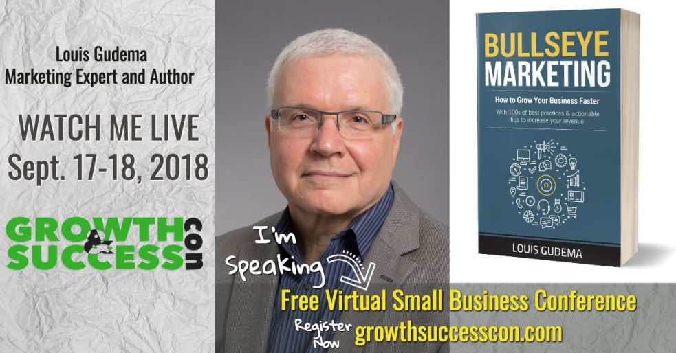 Marketing Expert Louis Gudema to speak during free small business conference