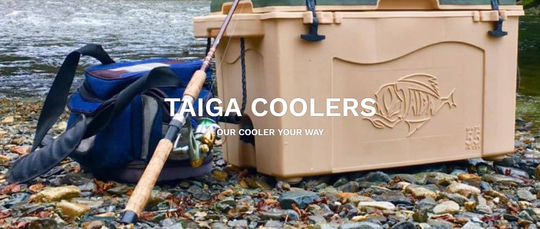 Taiga Coolers – Our Cooler Your Way