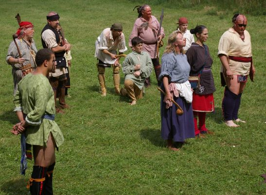2018 Long Run Massacre Re-Enactment at Shelbyville, KY's Red Orchard Park.