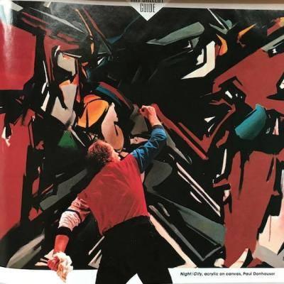 "Paul Donhauser painting ""Night City"""