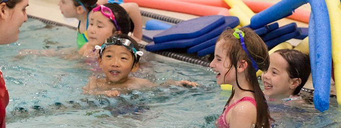 The NSYMCA provides water safety lessons for second graders in need.