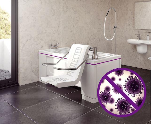 The infection-controlling Gentona bath