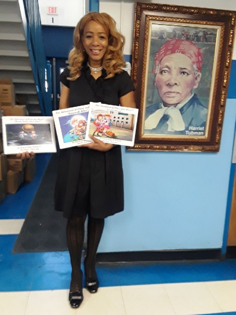 Karen Elise Wormack, Author Harriet Tubman Elementary School Nwk, NJ Spring 2018