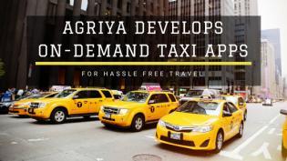 Agriya Develops On-demand Taxi Apps