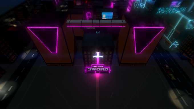Neon Sword Screenshot