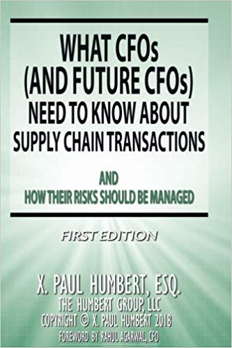 What CFOs (and Future CFOs) Need To Know About Supply Chain Transactions
