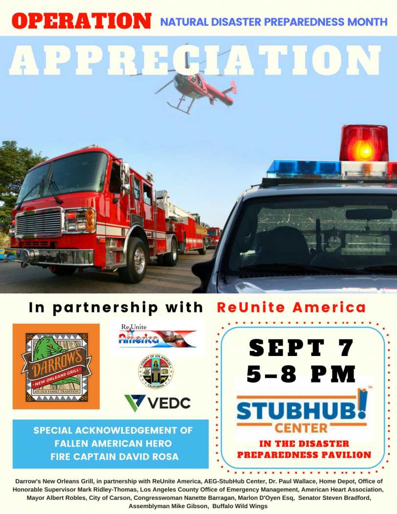 Operation Appreciation Flyer