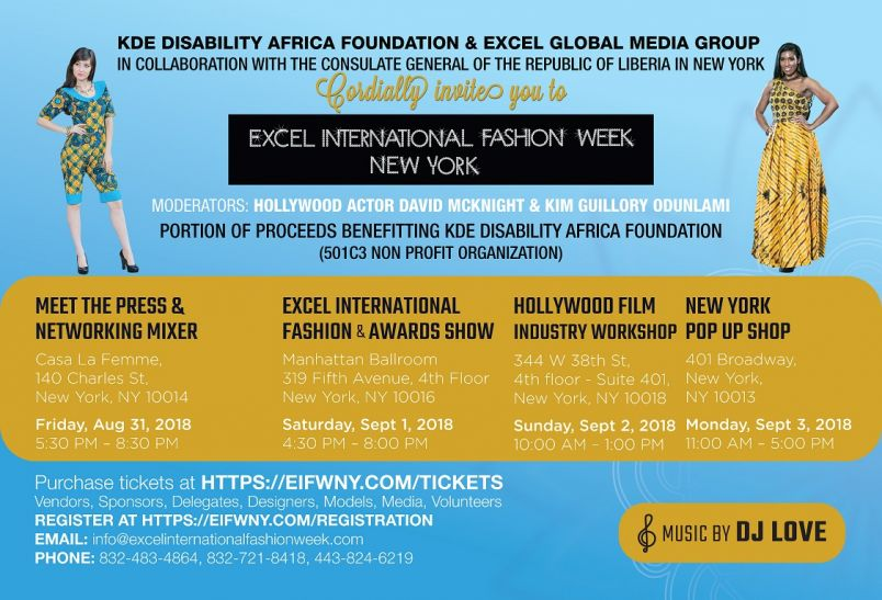 Excel International Fashion Week New York