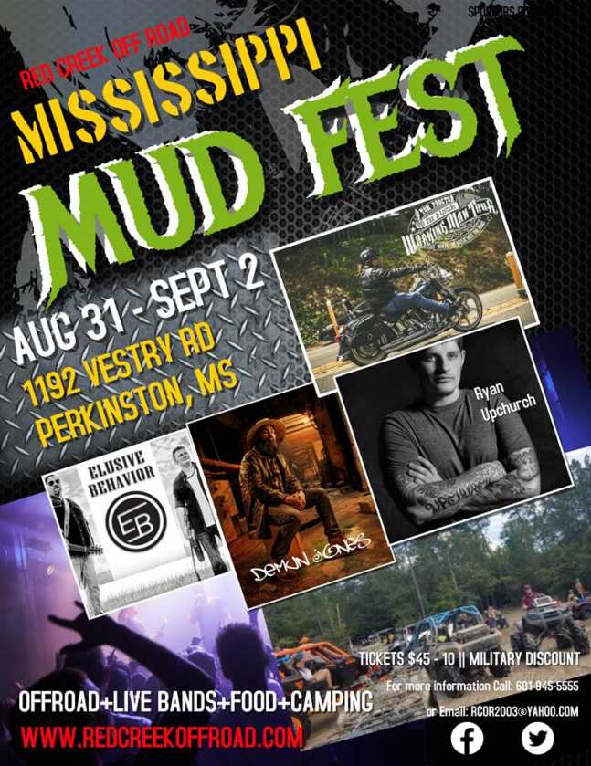 Tom Proctor To Perform At Mississippi Mudfest 2018
