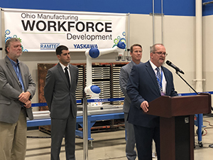 Press Conference Announcing the Ohio Manufacturing Alliance Partnership
