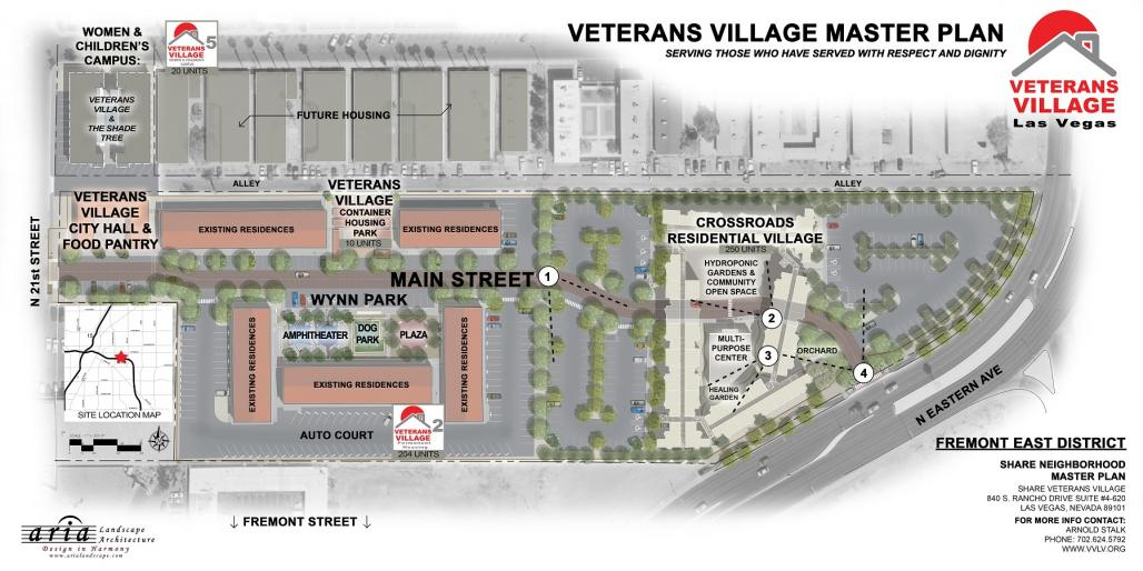 VV East Fremont District, Las Vegas, NV Master Plan