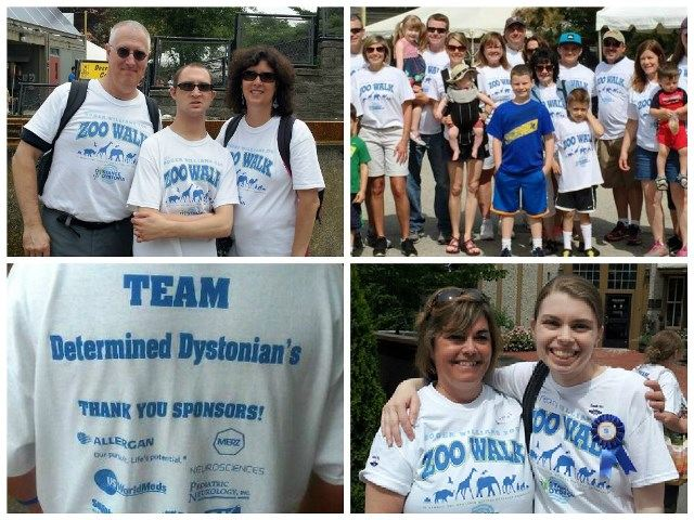 Providence is one of 13 cities to host a Dystonia Zoo Walk this year.
