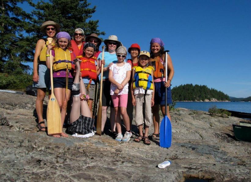 Women and Girls Canoe Trip