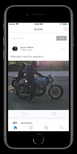 Tonit Motorcycle App - share your pics and experiences