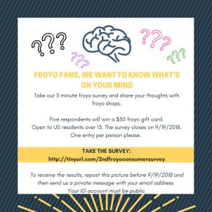 Froyo Consumer Survey