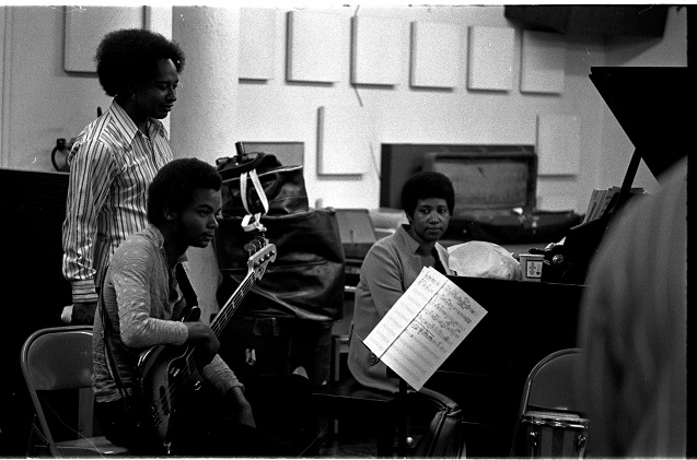 Michael Henderson * ArethaFranklin Recording Session