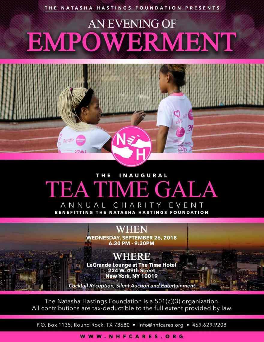 tea time gala flyer