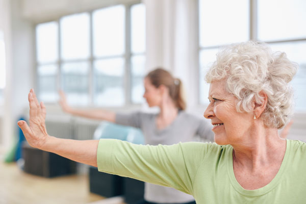 Gentle exercise can reduce the pain and stiffness associated with arthritis