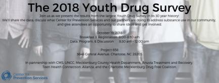 2018 Youth Drug Survey Event