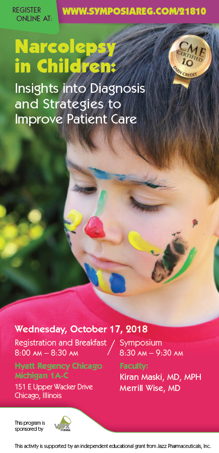 2018 Child Neurology CME Symposium