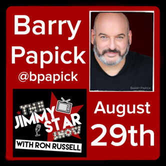 Barry Papick on The Jimmy Star Show with Ron Russell