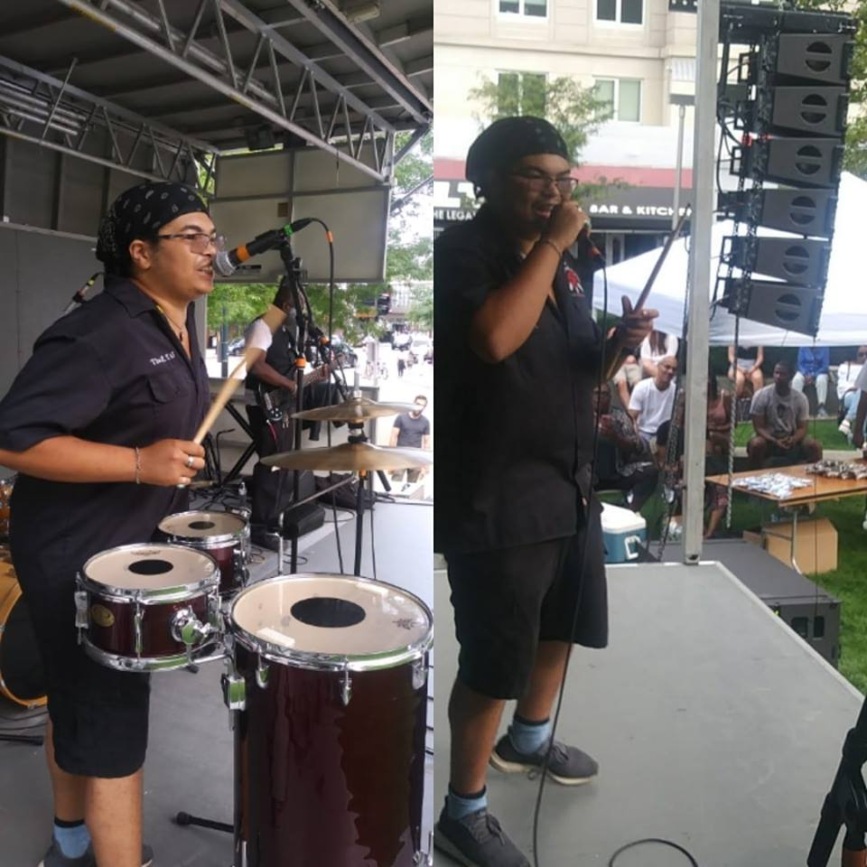 The ZYG 808 moving the crowd at the Boston Jazz Fest