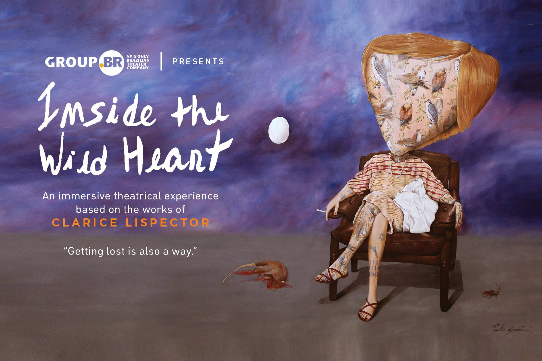 Group .BR's Inside the Wild Heart debuts on October 18, 2018 at AiCH Studio