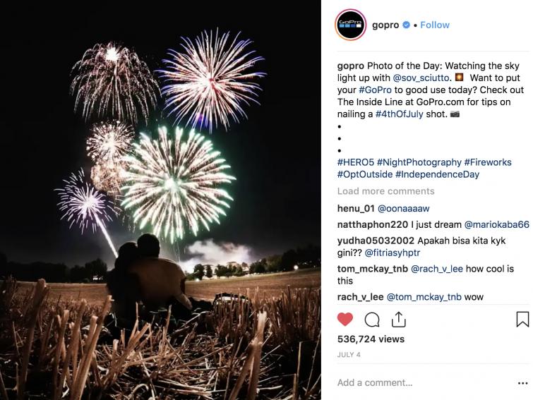 GoPro used Plotaverse to animate Fireworks