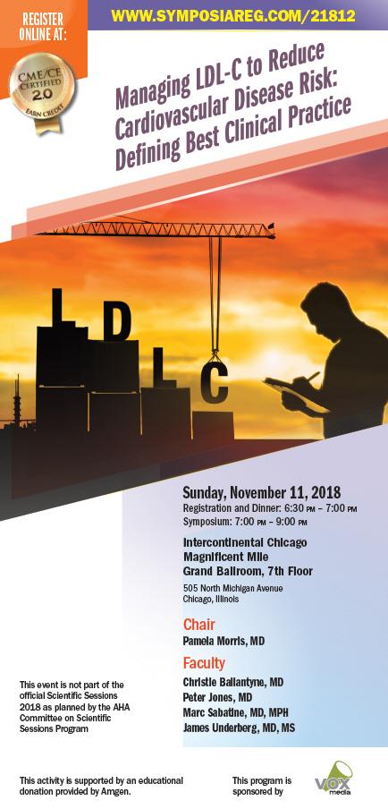 2018 AHA CME Symposium LDL-C Lipid