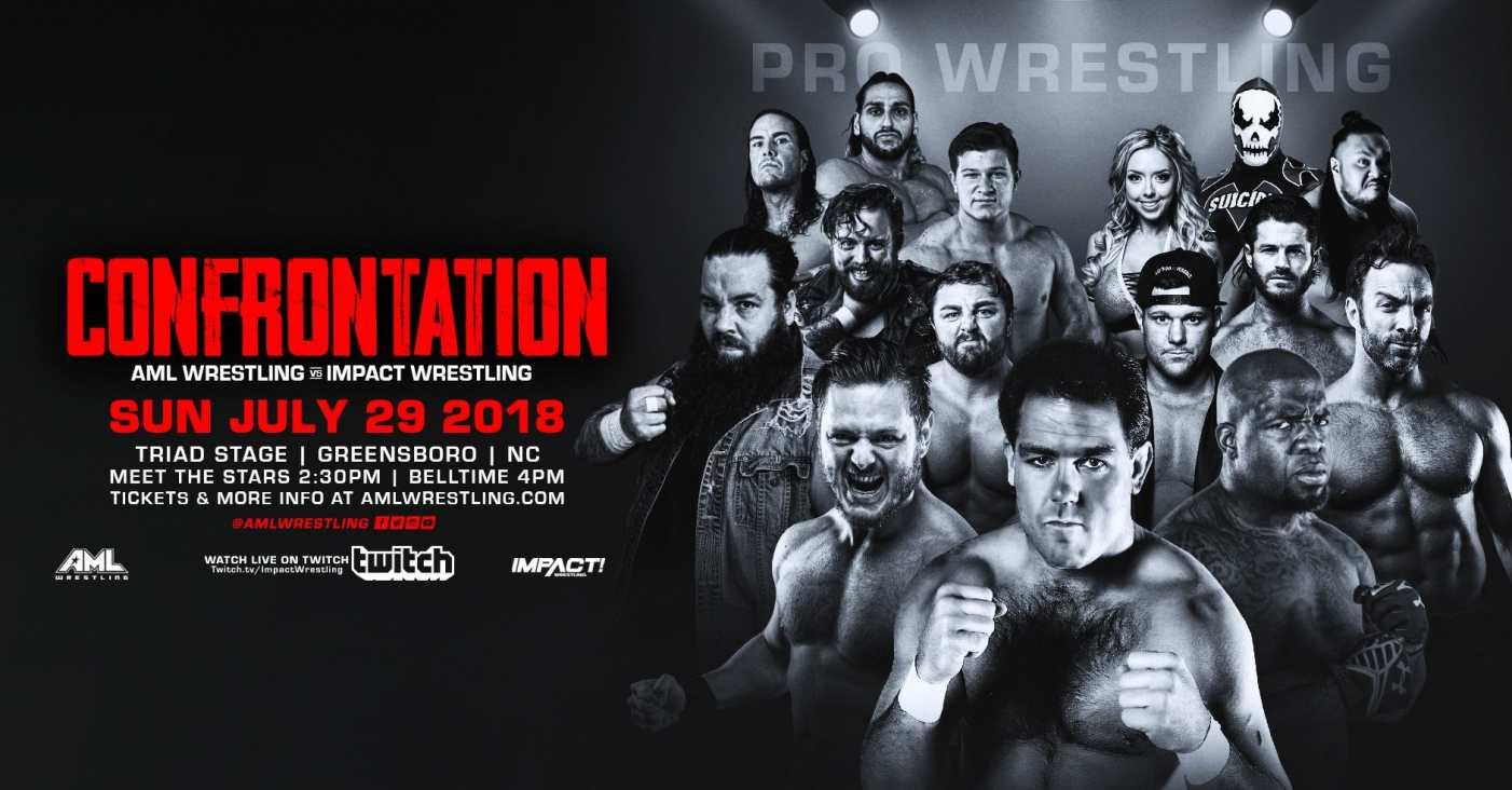 Confrontation AML Wrestling Impact Wrestling