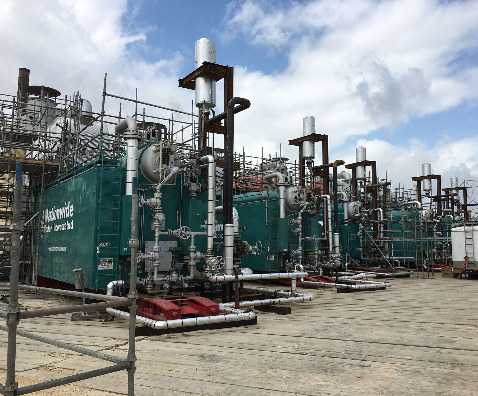 Rental Boilers with Urea-Based CataStak SCR Systems