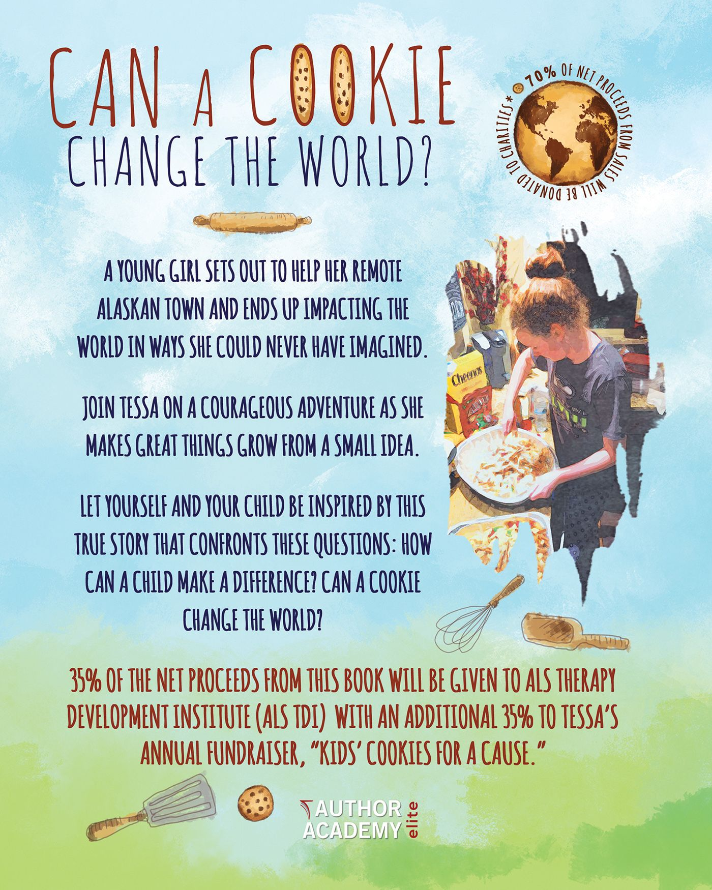 Can a Cookie Change the World? (Back Cover)