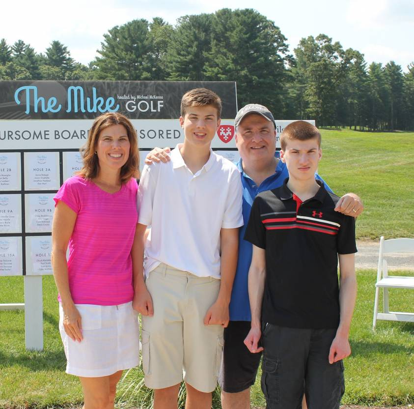 The McKenna Family at The Mike Golf Invitational