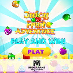 Juicy Fruit Adventure Game by Megafans