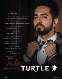 The new face of Turtle-Ayushmann Khurrana